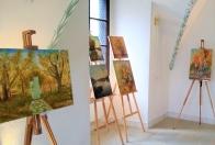Výstava diel členov Klubu výtvarníkov Galantská paleta