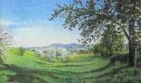 Výstava diel Pavla Kohúta - Jar na vidieku