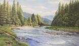 Výstava diel Pavla Kohúta - Dolina v Tatrách