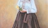 Výstava diel Pavla Kohúta - Manželka v kroji I