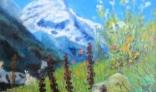Výstava diel Jána Kollároviča - Rozkvitnuté hory