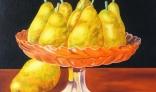 Výstava diel Jána Melišeka - Misa s ovocím I