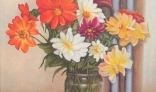 Výstava diel Pavla Kohúta - Kytica záhradných kvetov