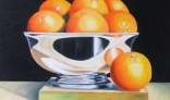 Výstava diel Jána Melišeka - Misa s ovocím III