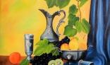 Výstava diel Jána Melišeka - Zátišie s ovocím II