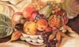 Výstava diel Evy Králikovej - Tóthovej (Canestra di frutta, podľa Carravagia)