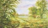 Výstava diel Márie Liškovej (Krajina pri vode)