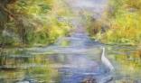 Výstava diel Márie Liškovej (Odraz krajiny vo vode)