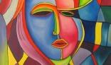 Výstava diel Jána Melišeka - Kubistický portrét ženy