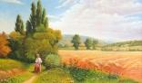 Výstava diel Pavla Kohúta - Na poľnej cestičke podľa G. Zorbóczyho