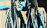 Výstava diel Jána Melišeka - Bob Marley