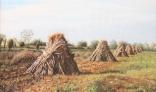Výstava diel Pavla Kohúta - Po zbere kukurice