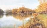 Výstava diel Pavla Kohúta - Tomášikovský mlyn na jeseň
