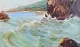 Výstava diel Evy Králikovej - Tóthovej (Jadranské vlny)