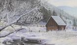 Výstava diel Pavla Kohúta - Vyšná Boca v zime