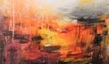 Výstava diel Márie Liškovej (Abstrakt - príroda)