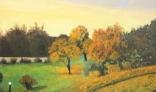 Výstava diel Jána Kollároviča - Jeseň v parku