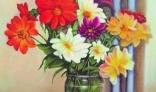 Galantská paleta 2021 - Kohút Pavel - Kytica záhradných kvetov