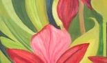 Výstava diel Evy Králikovej - Tóthovej (Orchidea sirôtková)