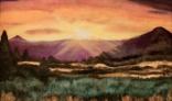 Galantská paleta 2021 - Kollárovič Ján - Západ slnka I